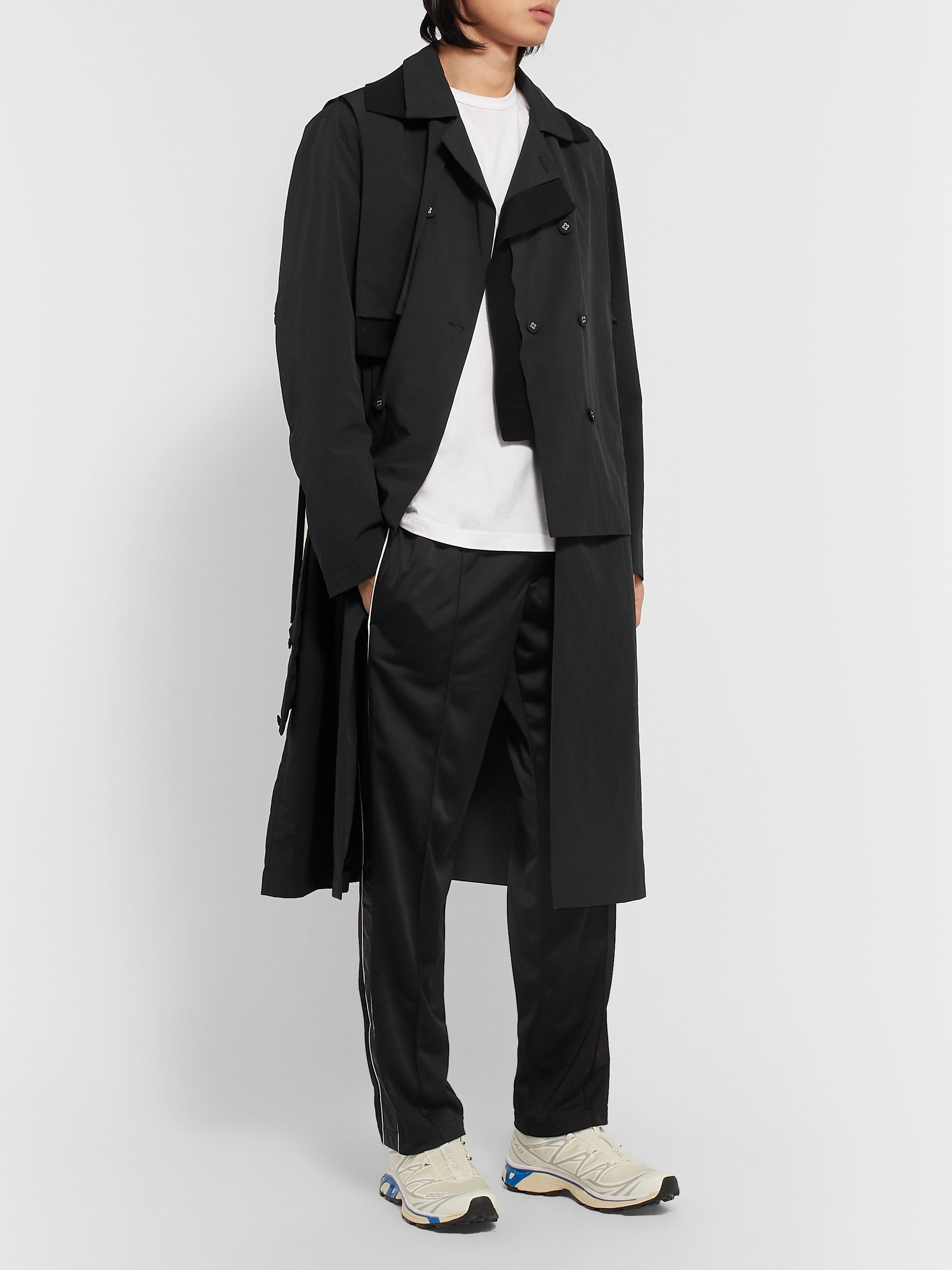 Craig Green Panelled Shell Trench Coat