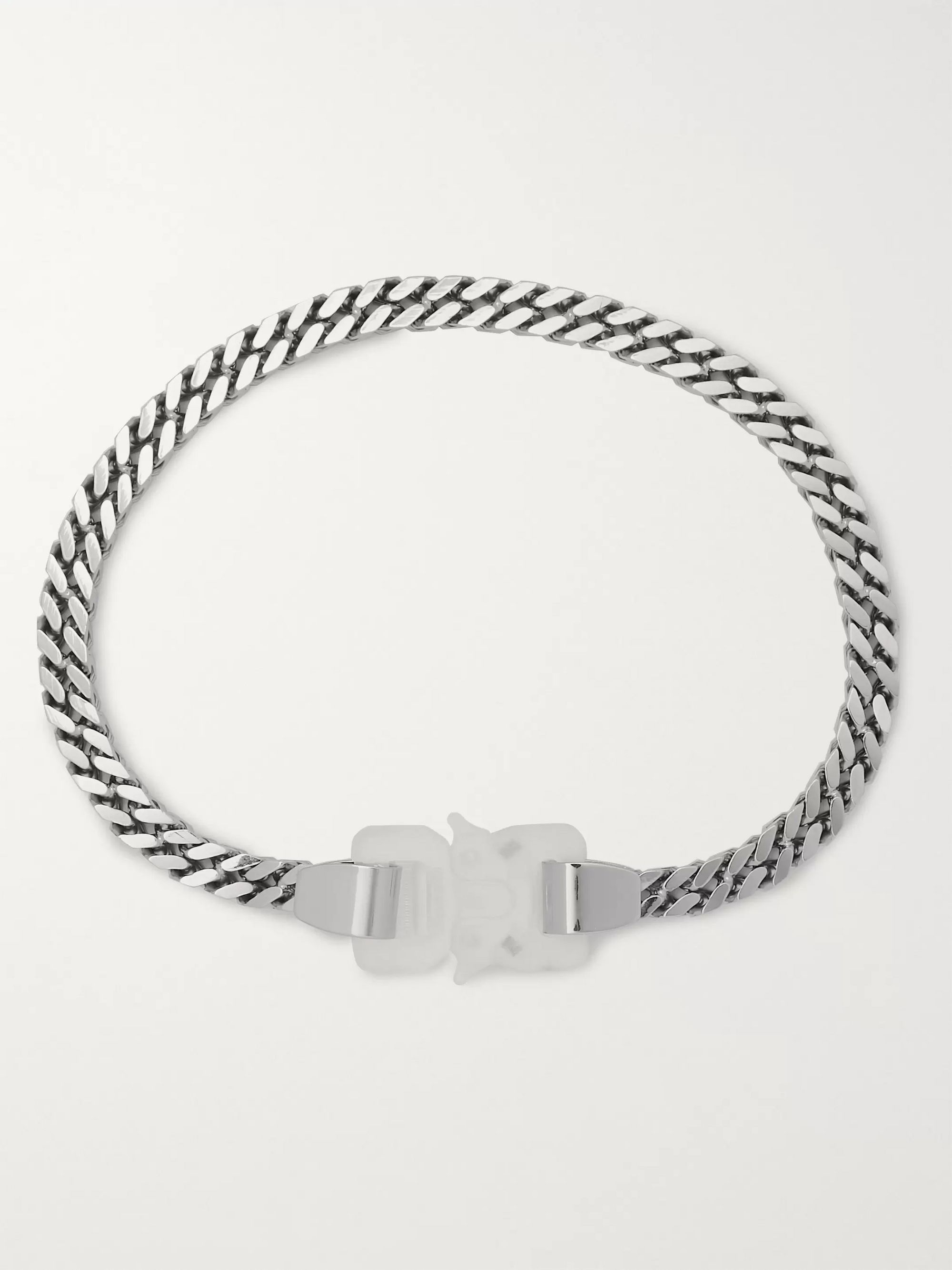 1017 ALYX 9SM Silver-Tone Necklace