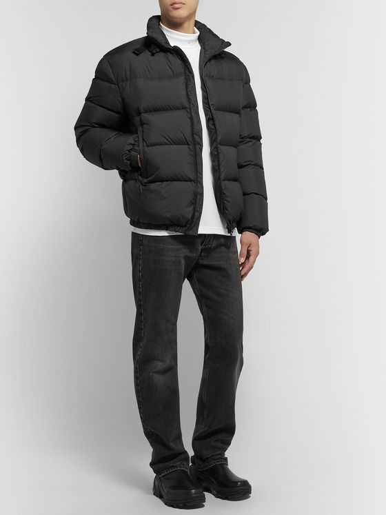 1017 ALYX 9SM Quilted Nylon-Ripstop Down Jacket