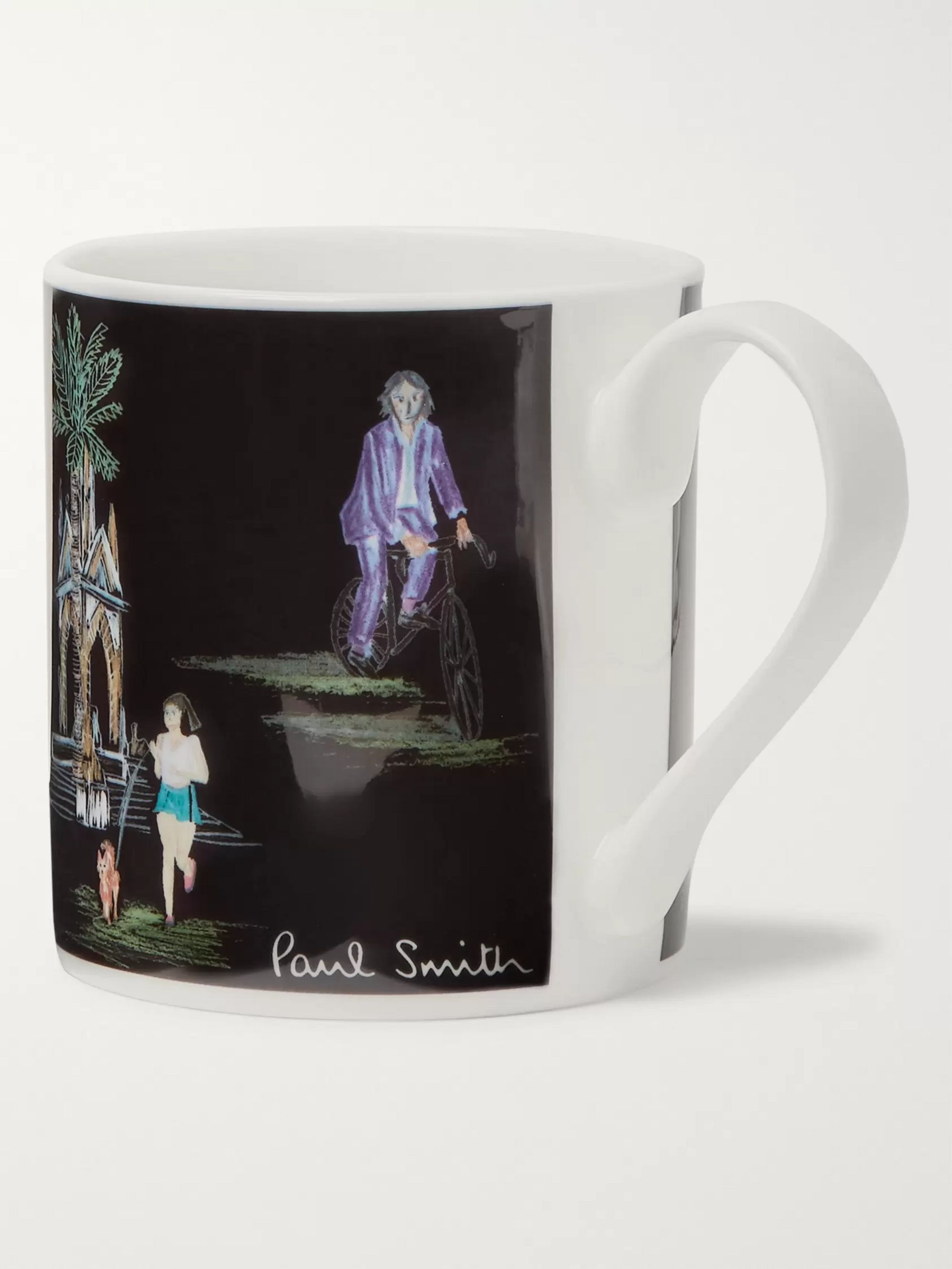 Paul Smith Beach Dino Bone China Mug
