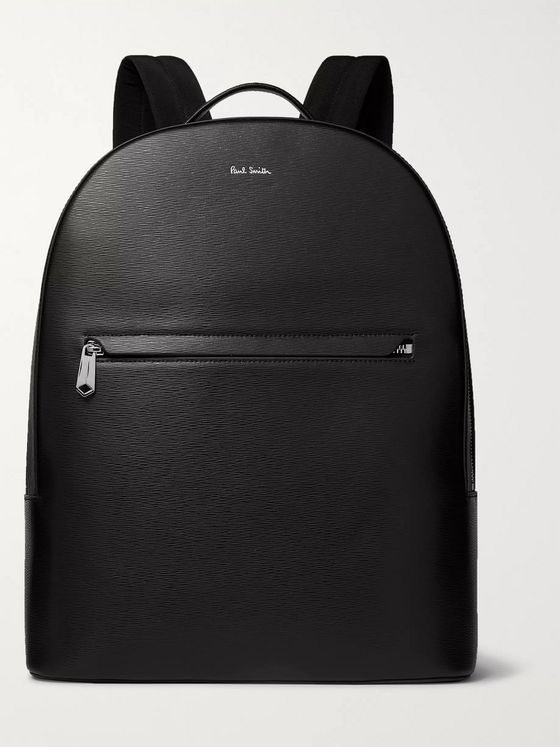 Paul Smith Textured-Leather Backpack