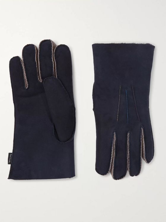 Paul Smith Shearling Gloves