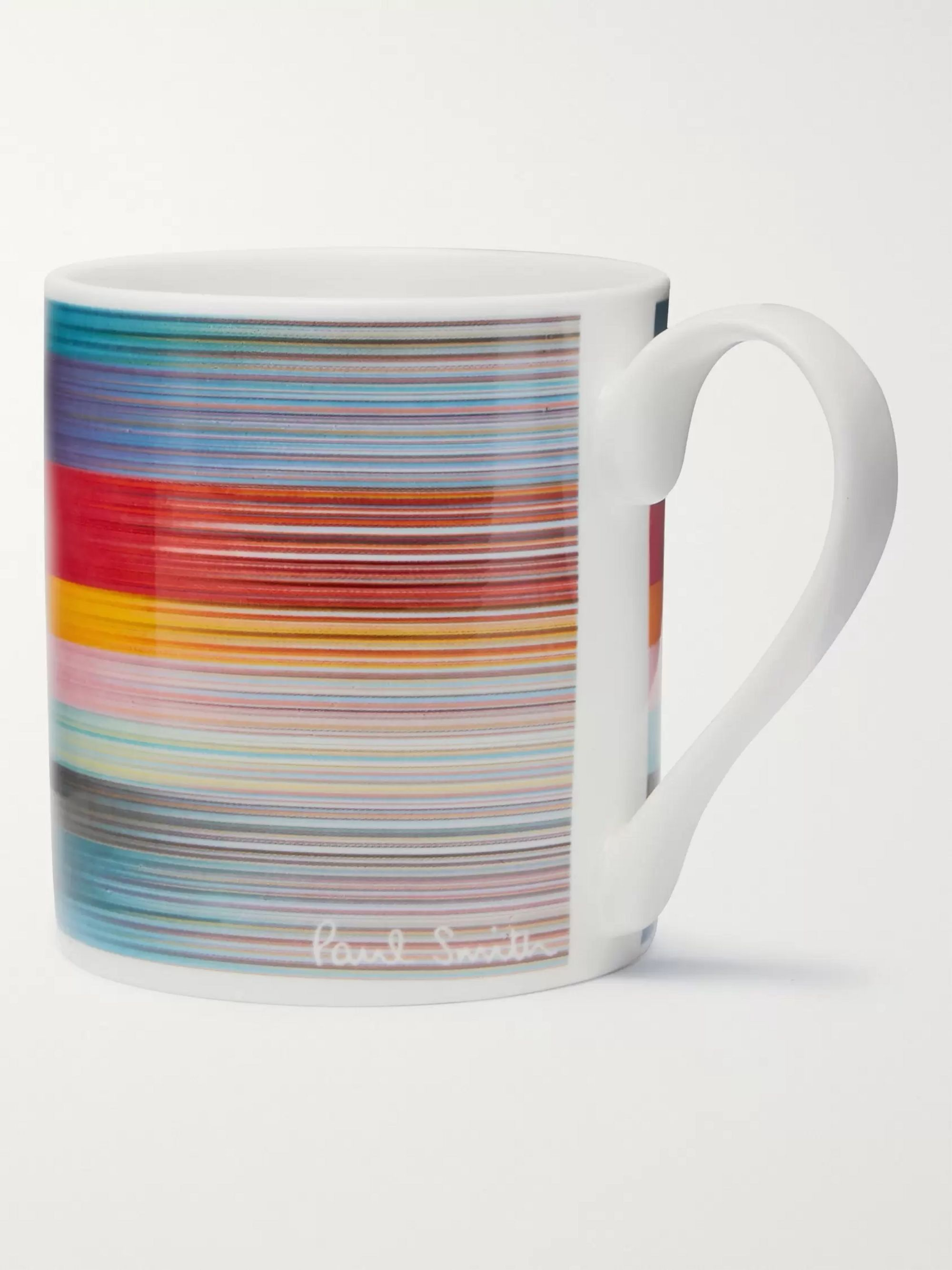 Paul Smith Striped Bone China Mug