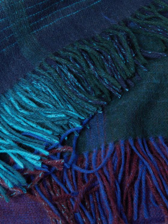 Paul Smith Andromeda Fringed Dégradé Wool Blanket