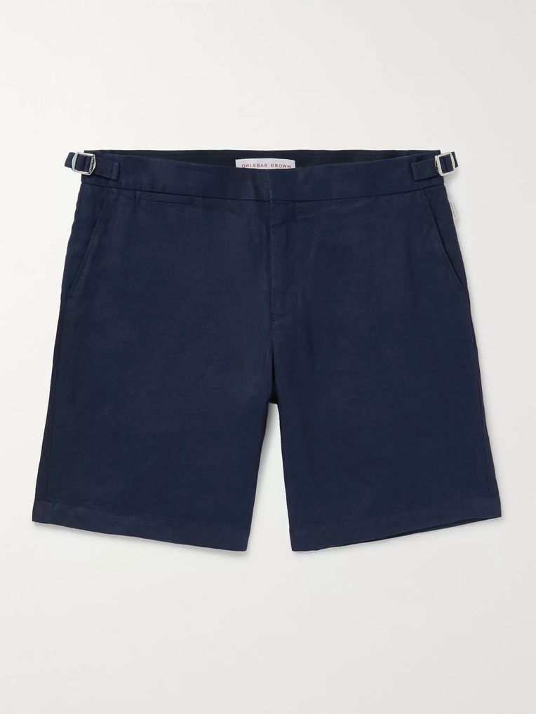 Orlebar Brown Norwich Slim-Fit Linen Shorts