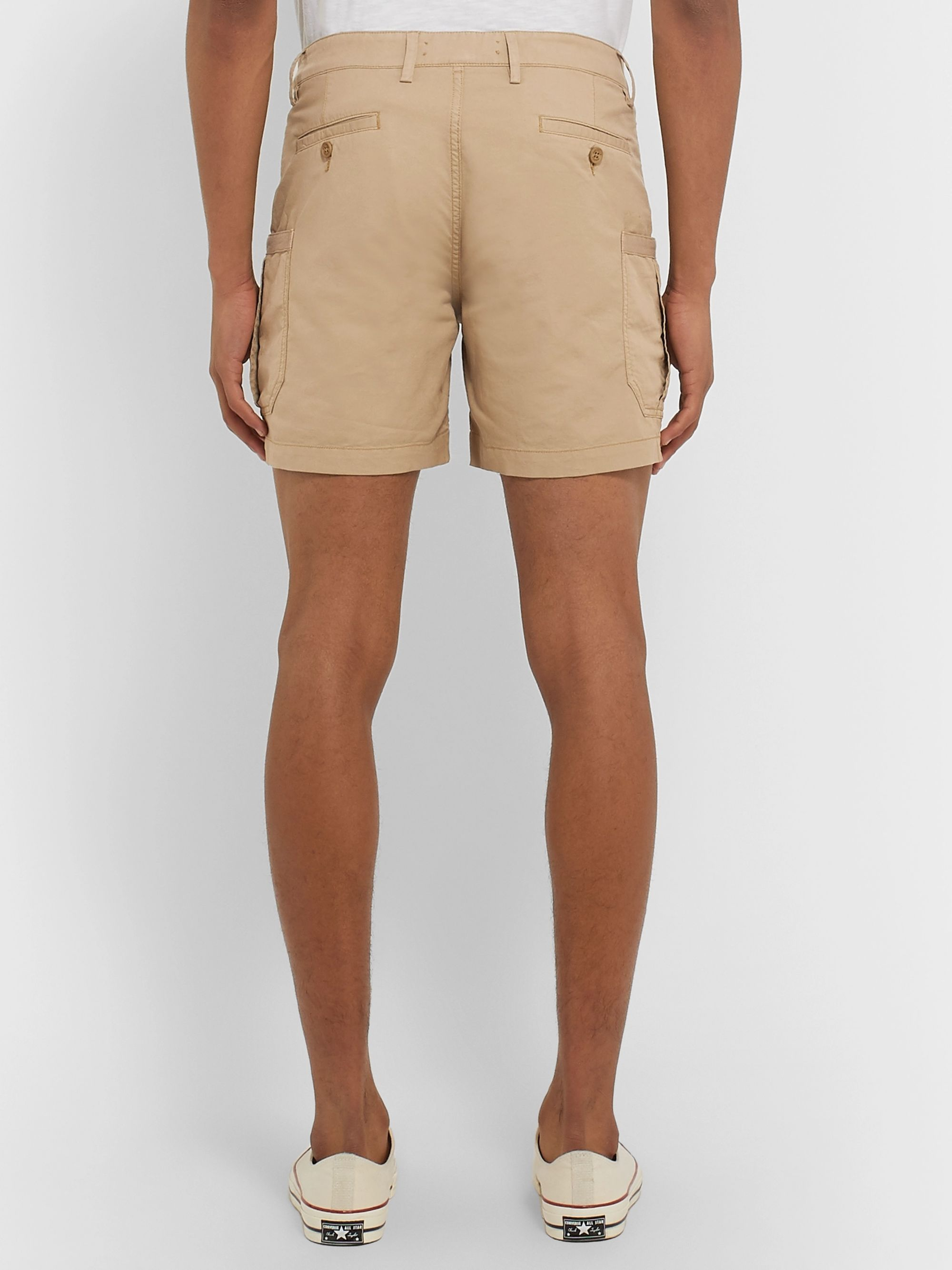 Orlebar Brown Bulldog Slim-Fit Linen-Blend Cargo Shorts