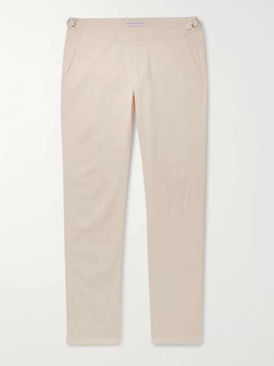 Orlebar Brown Campbell Slim-Fit Cotton-Twill Trousers