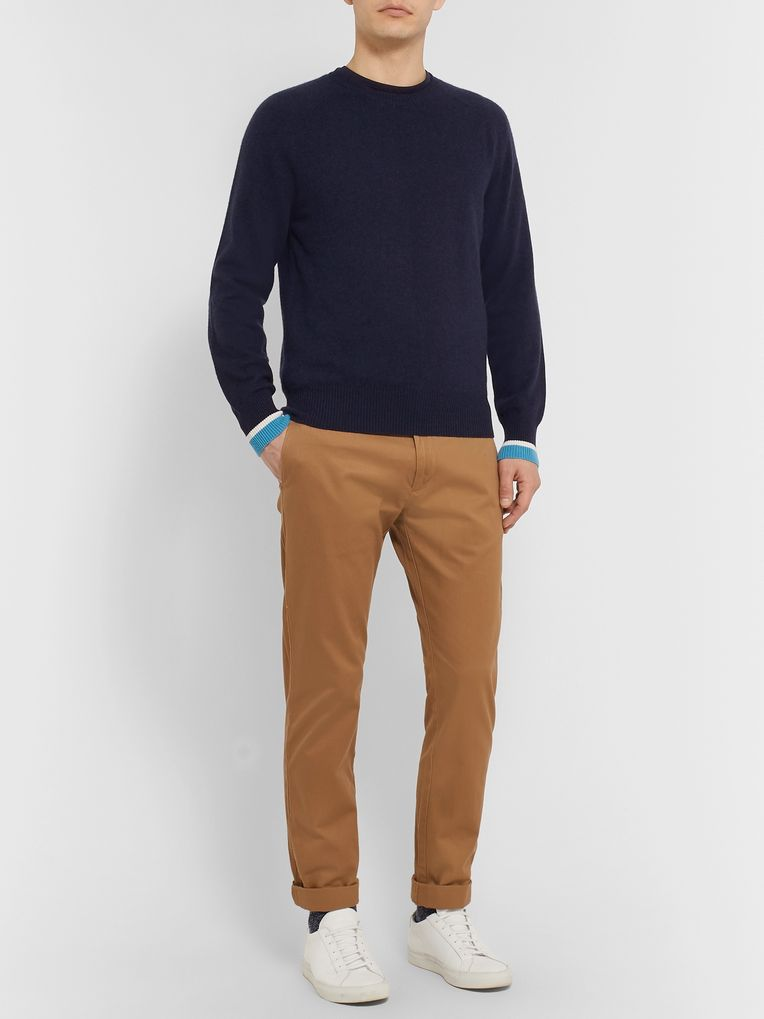 Orlebar Brown Ethan Striped Cashmere Sweater