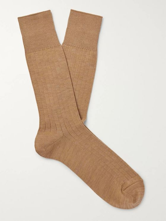 Mr P. Cotton-Blend Socks