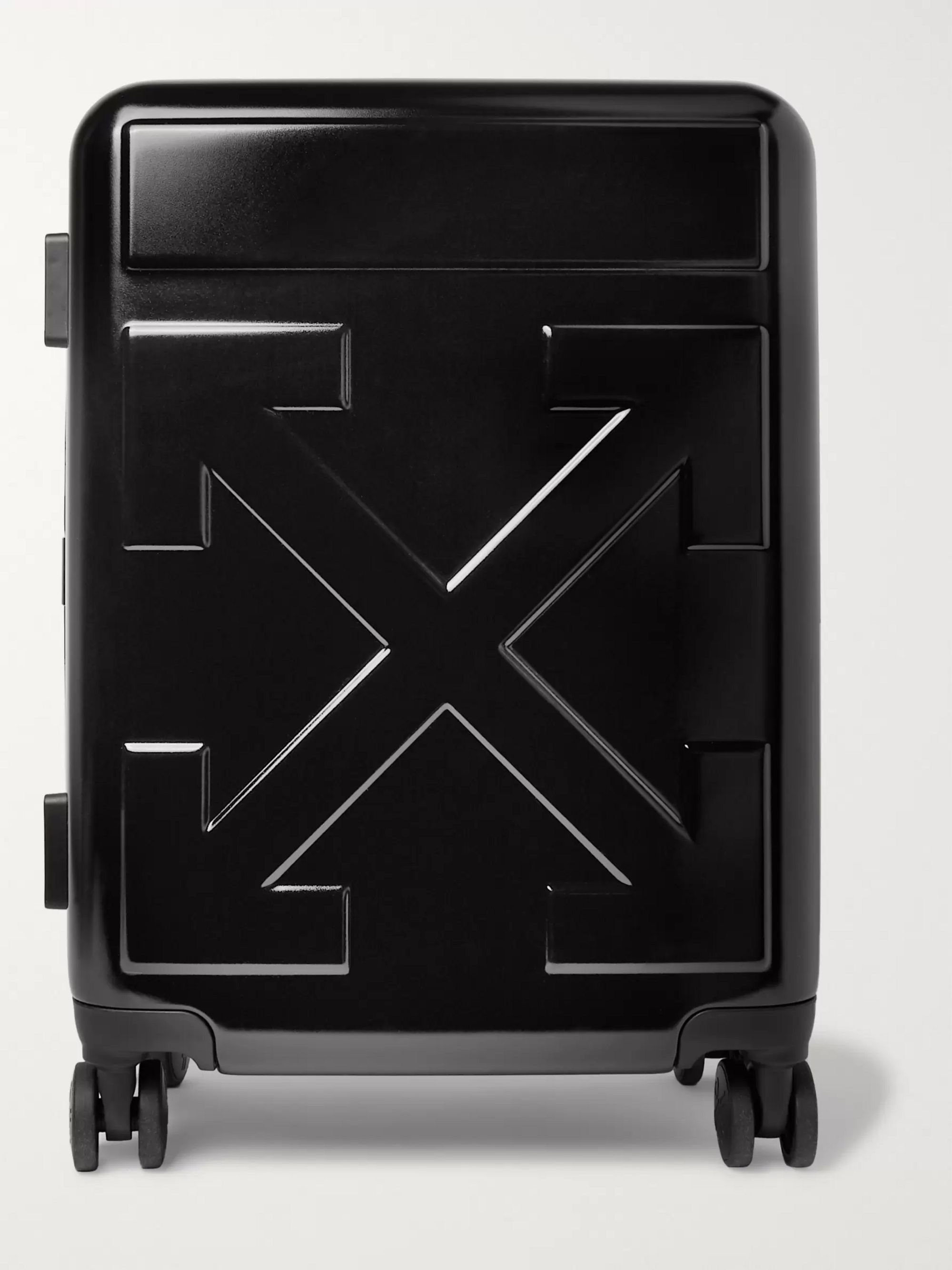 Off-White Arrow Polycarbonate Carry-On Suitcase