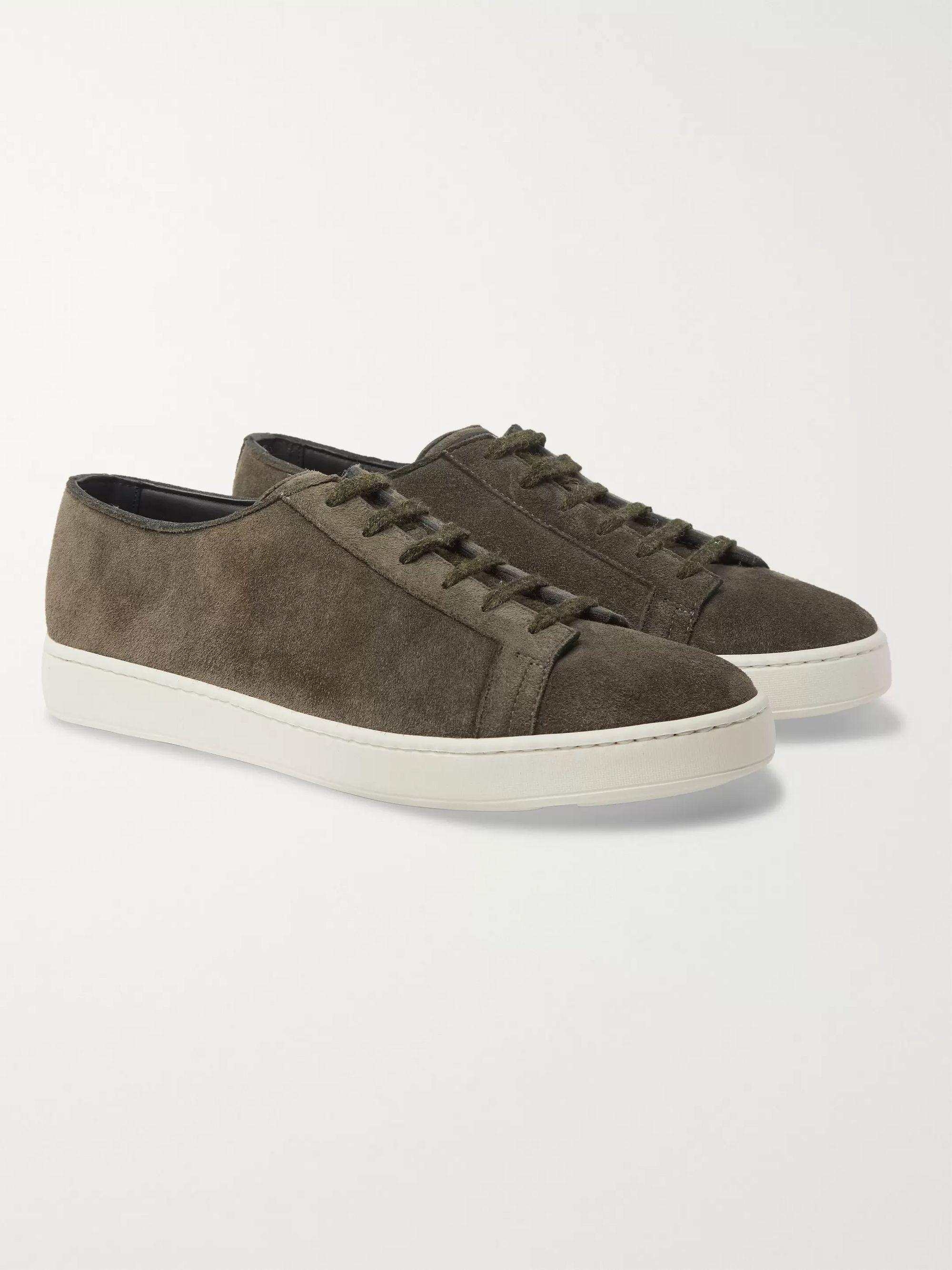 santoni monk strap Schuhe, Santoni Low Sneakers