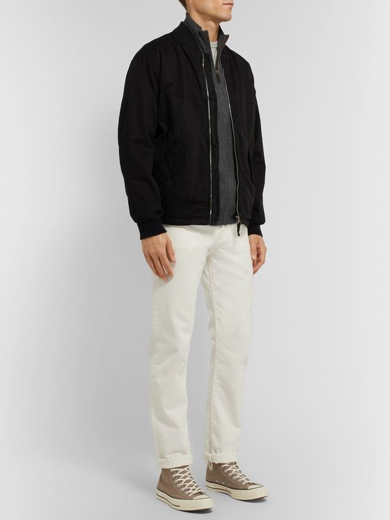 Polo Ralph Lauren Mélange Merino Wool Zip-Up Cardigan