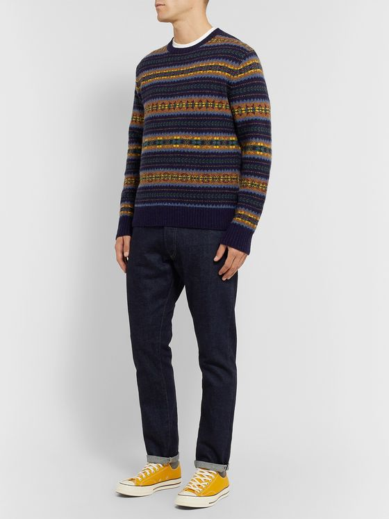 Polo Ralph Lauren Fair Isle Wool Sweater