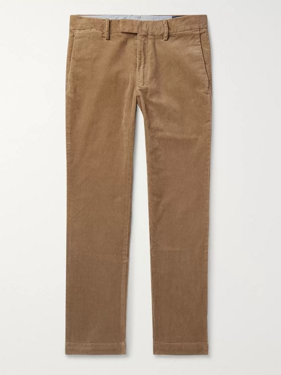 Polo Ralph Lauren Cotton-Blend Corduroy Trousers