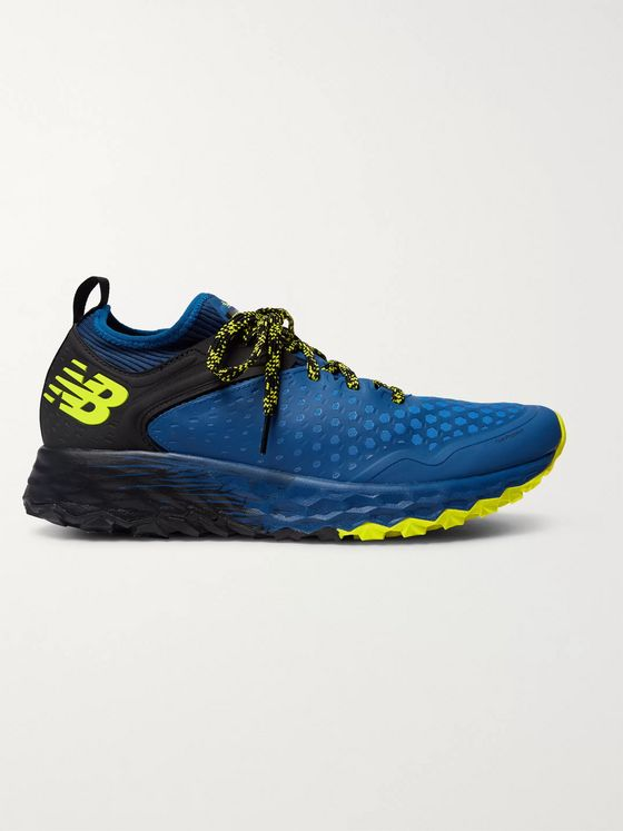 New Balance Hierro v4 Rubber and Mesh Trail Running Sneakers