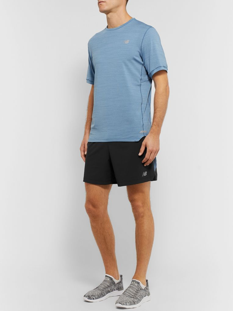 New Balance Impact Stretch-Shell Shorts