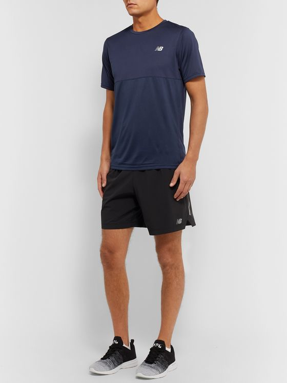 New Balance Accelerate Stretch Tech-Jersey T-Shirt