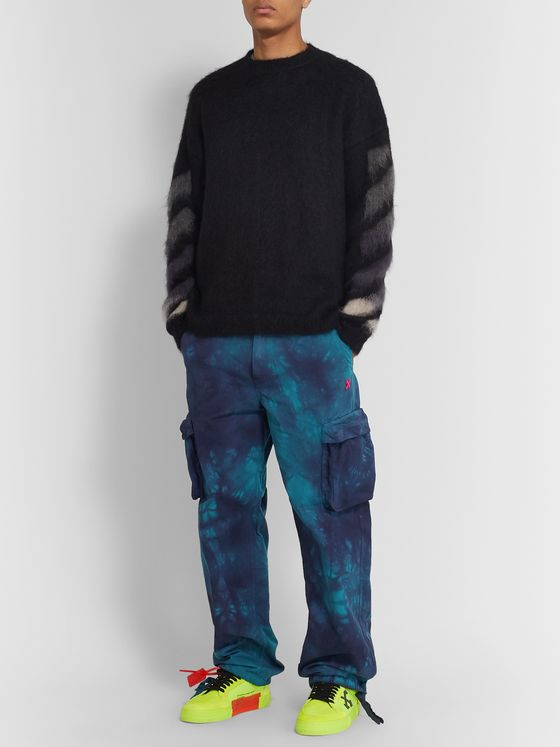 Off-White Tie-Dyed Ripstop Cargo Trousers