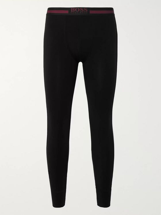 Hugo Boss Stretch-Jersey Thermal Tights