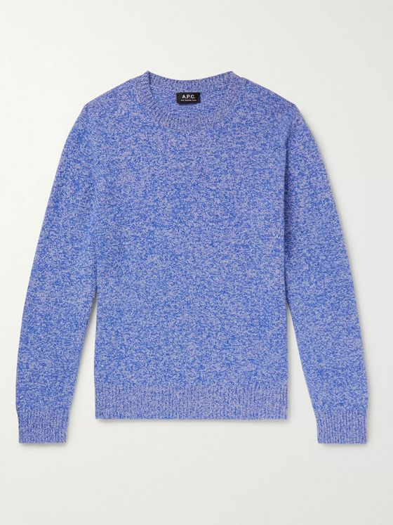 A.P.C. Marcus Mélange Wool Sweater
