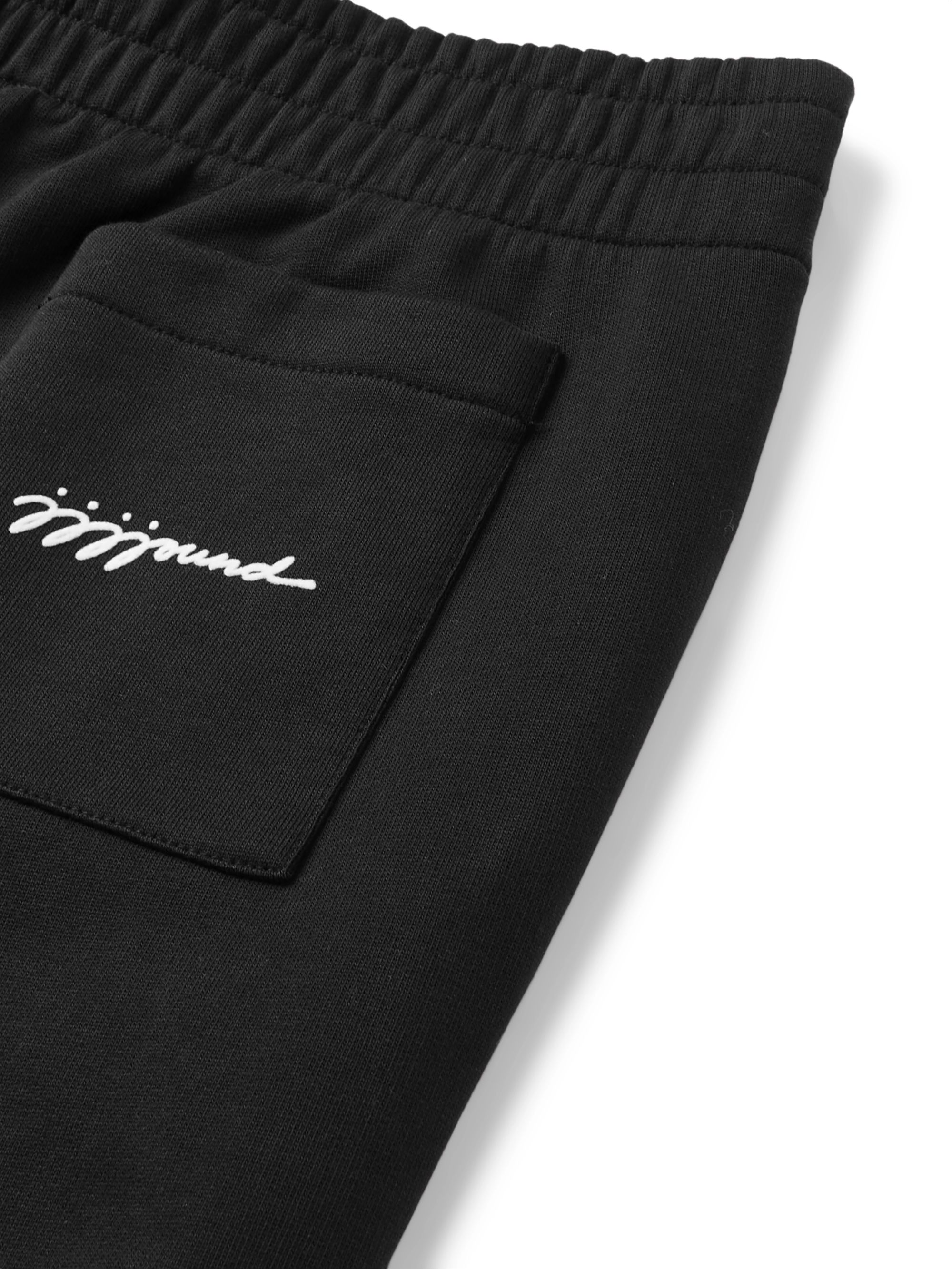 A.P.C. + JJJJound Justin Slim-Fit Logo-Detailed Loopback Cotton-Jersey Sweatpants