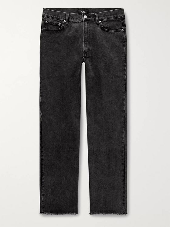 A.P.C. Rudie Slim-Fit Distressed Stonewashed Denim Jeans
