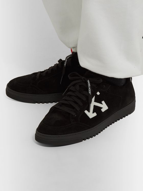 Off-White 2.0 Suede Sneakers