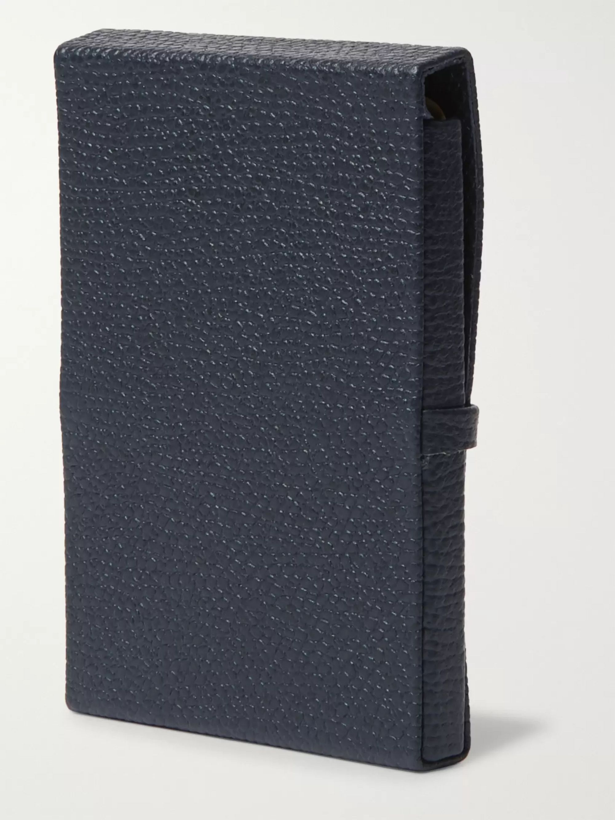 Valextra Full-Grain Leather Cardholder