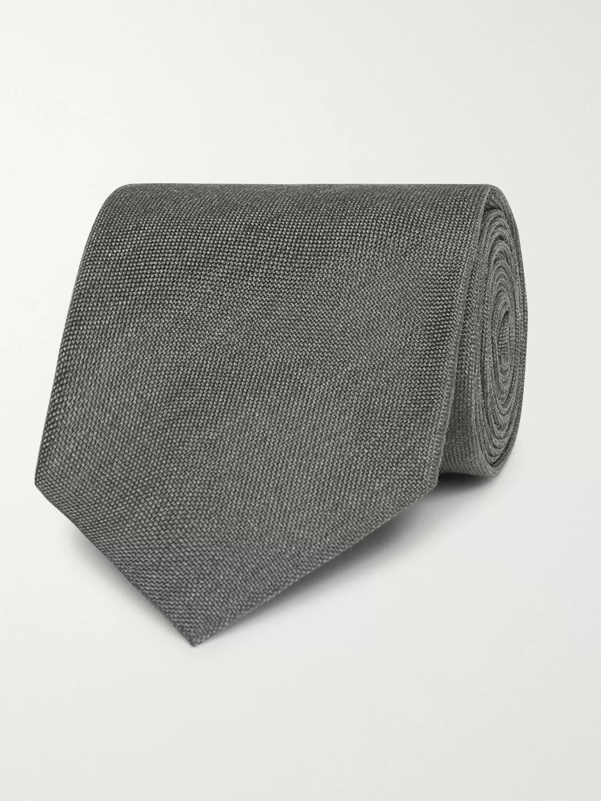 TOM FORD 8cm Mélange Silk Tie