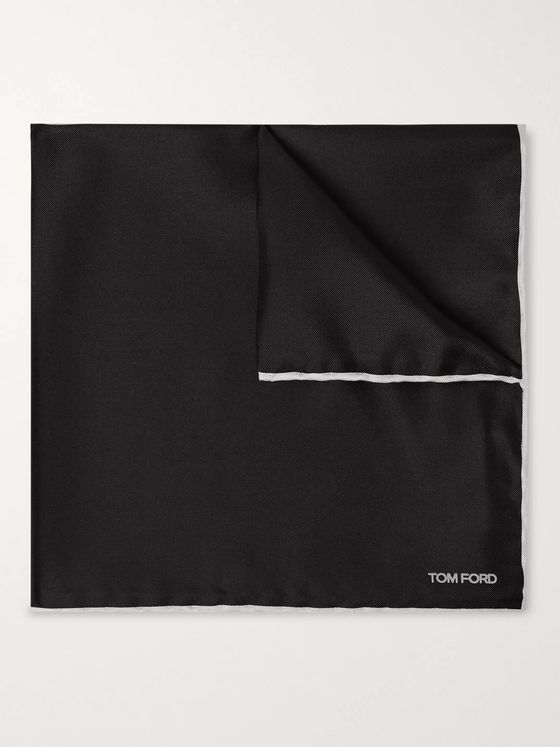 TOM FORD Silk-Twill Pocket Square