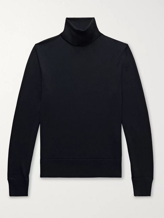 TOM FORD Merino Wool Rollneck Sweater