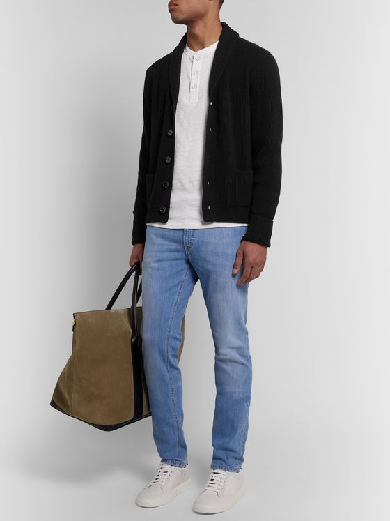 TOM FORD Slim-Fit Shawl-Collar Cashmere Cardigan