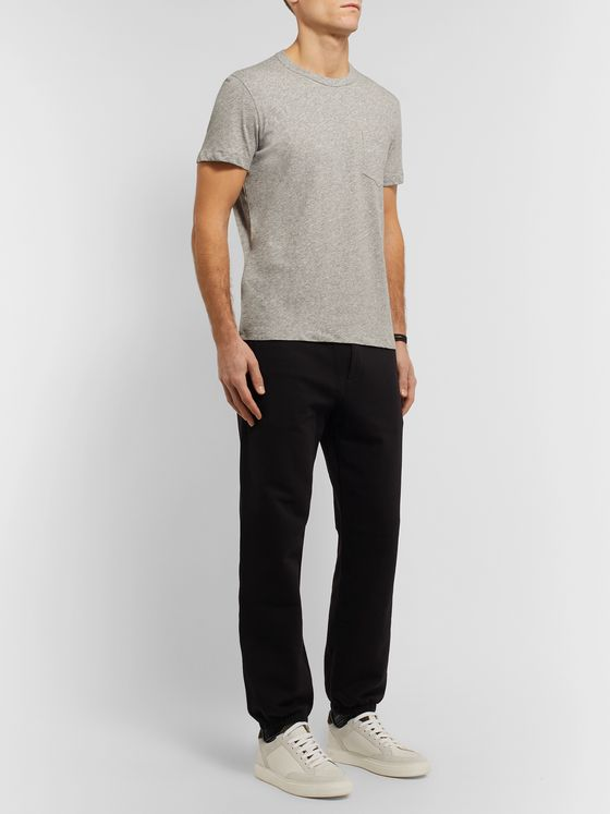 TOM FORD Mélange Cotton-Jersey T-Shirt