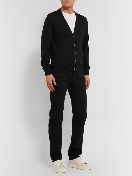 TOM FORD Slim-Fit Wool Cardigan