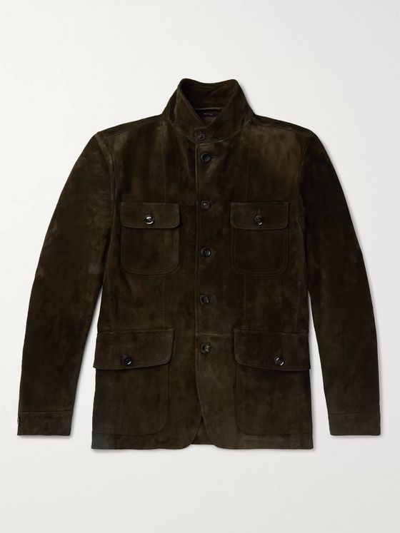 TOM FORD Suede Field Jacket