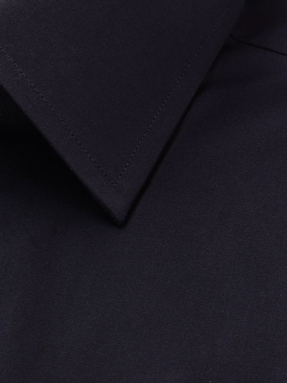 TOM FORD Navy Cotton Shirt