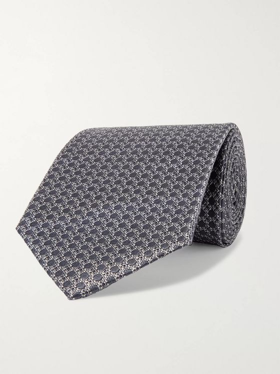 TOM FORD 8.5cm Silk-Jacquard Tie
