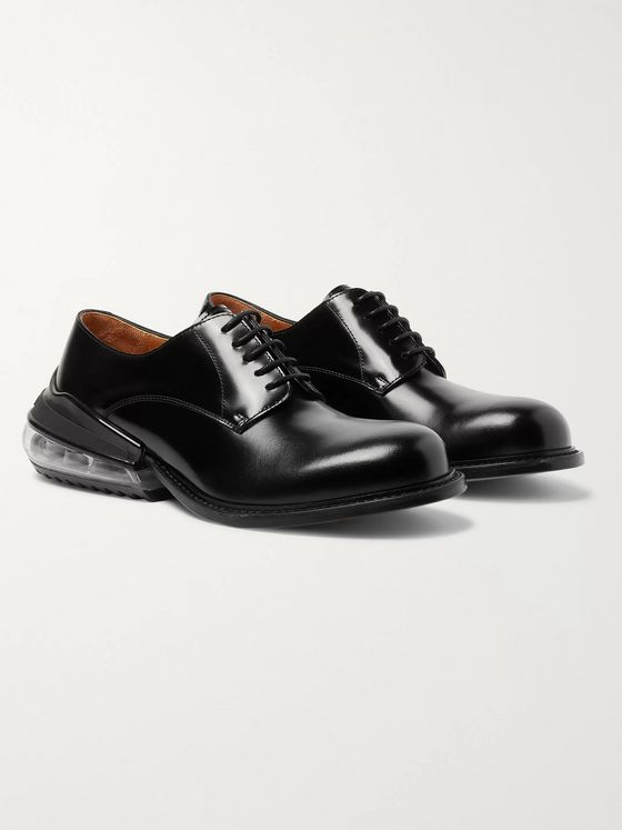 Maison Margiela Polished-Leather Derby Shoes