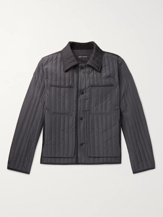 Craig Green Slim-Fit Quilted Shell Jacket