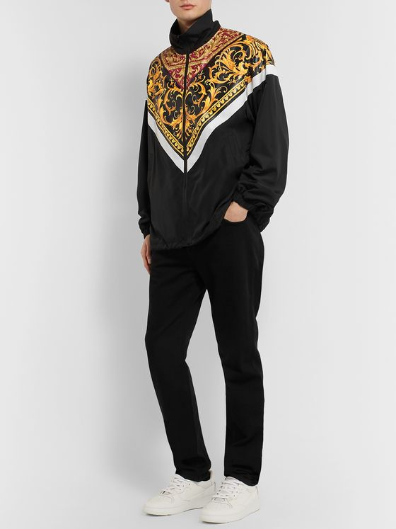 Versace Printed Shell Jacket