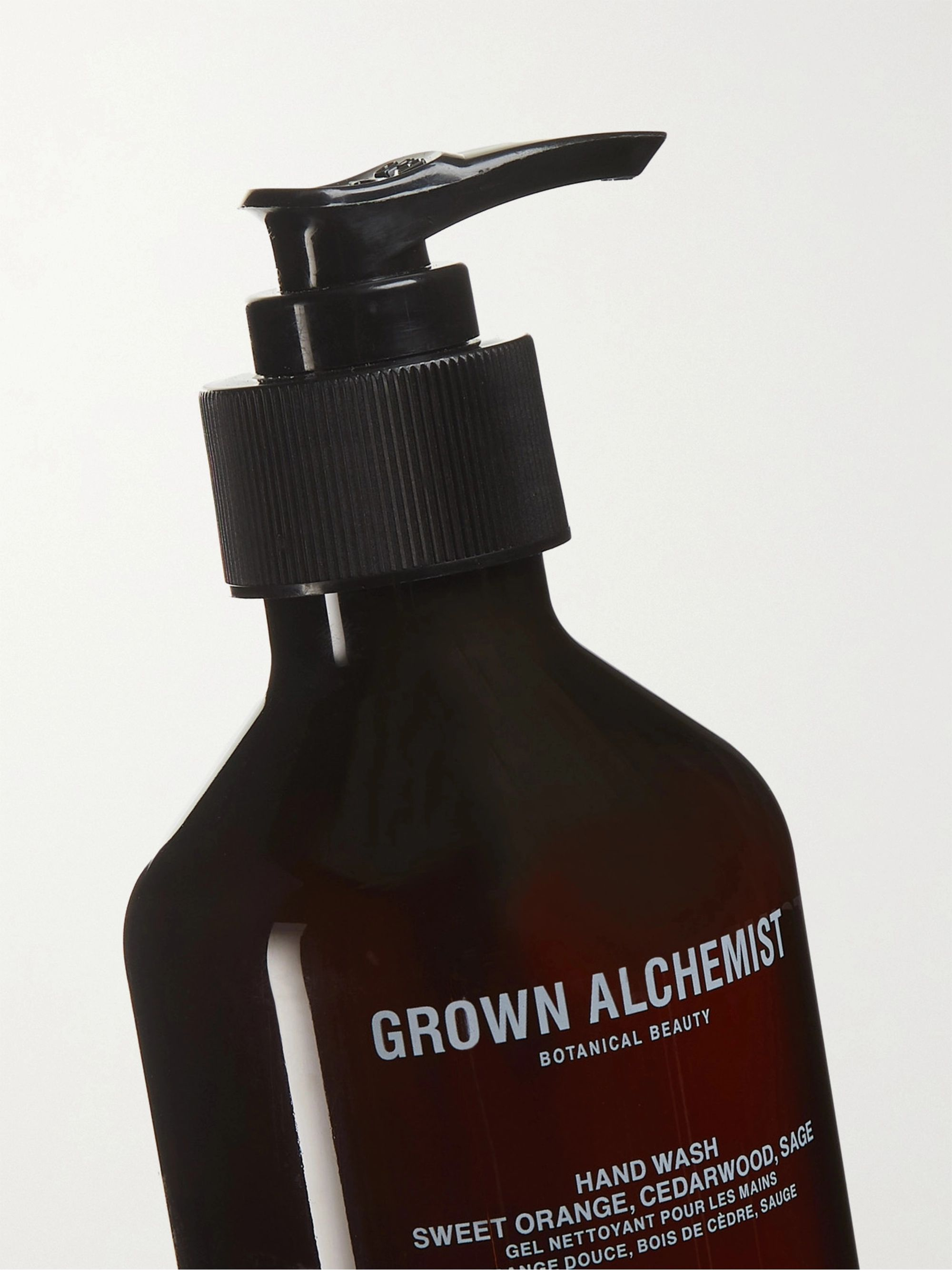 GROWN ALCHEMIST Hand Wash - Sweet Orange, Cedarwood & Sage, 300ml