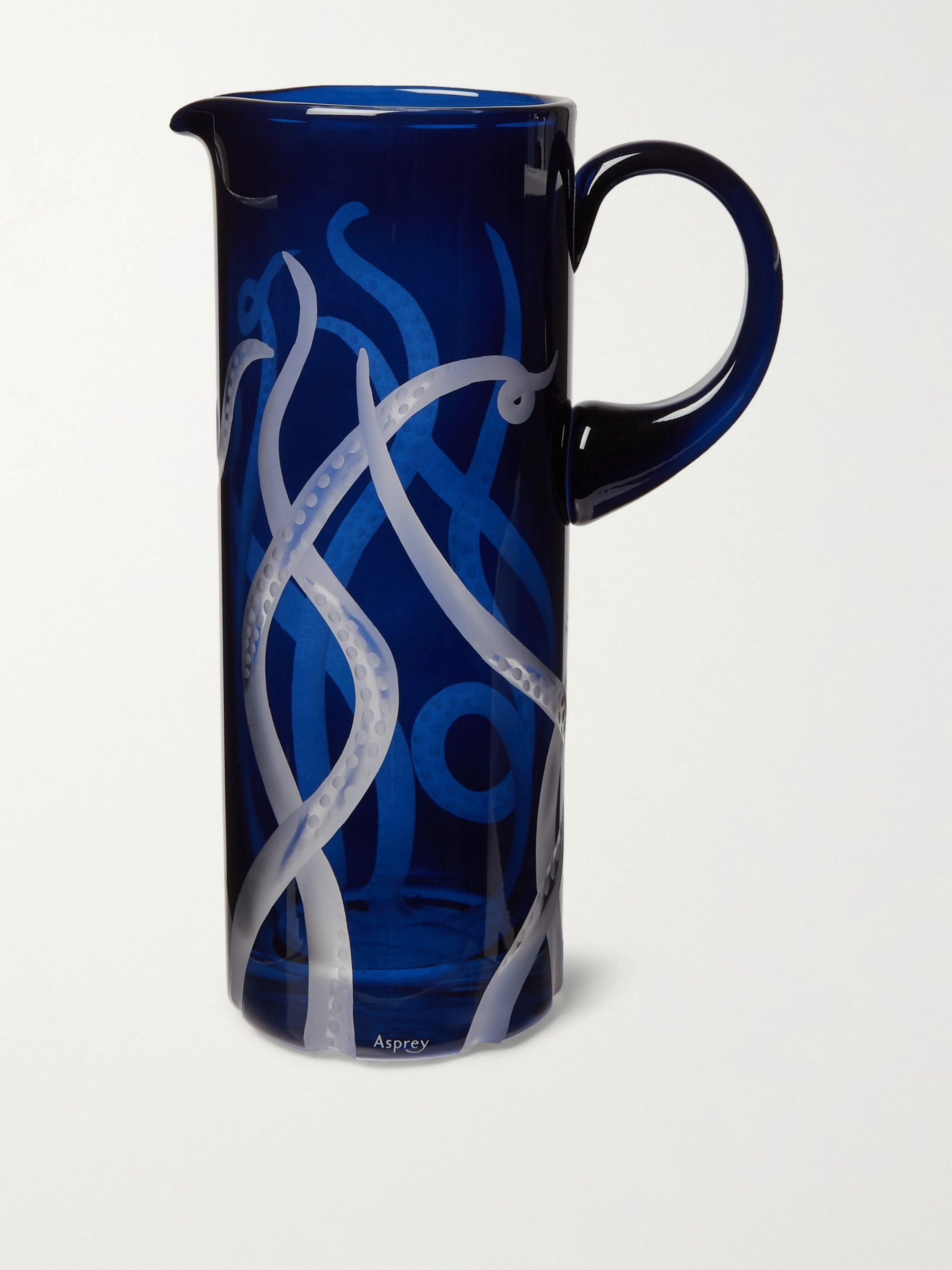 Asprey Octopus Ink Crystal Jug