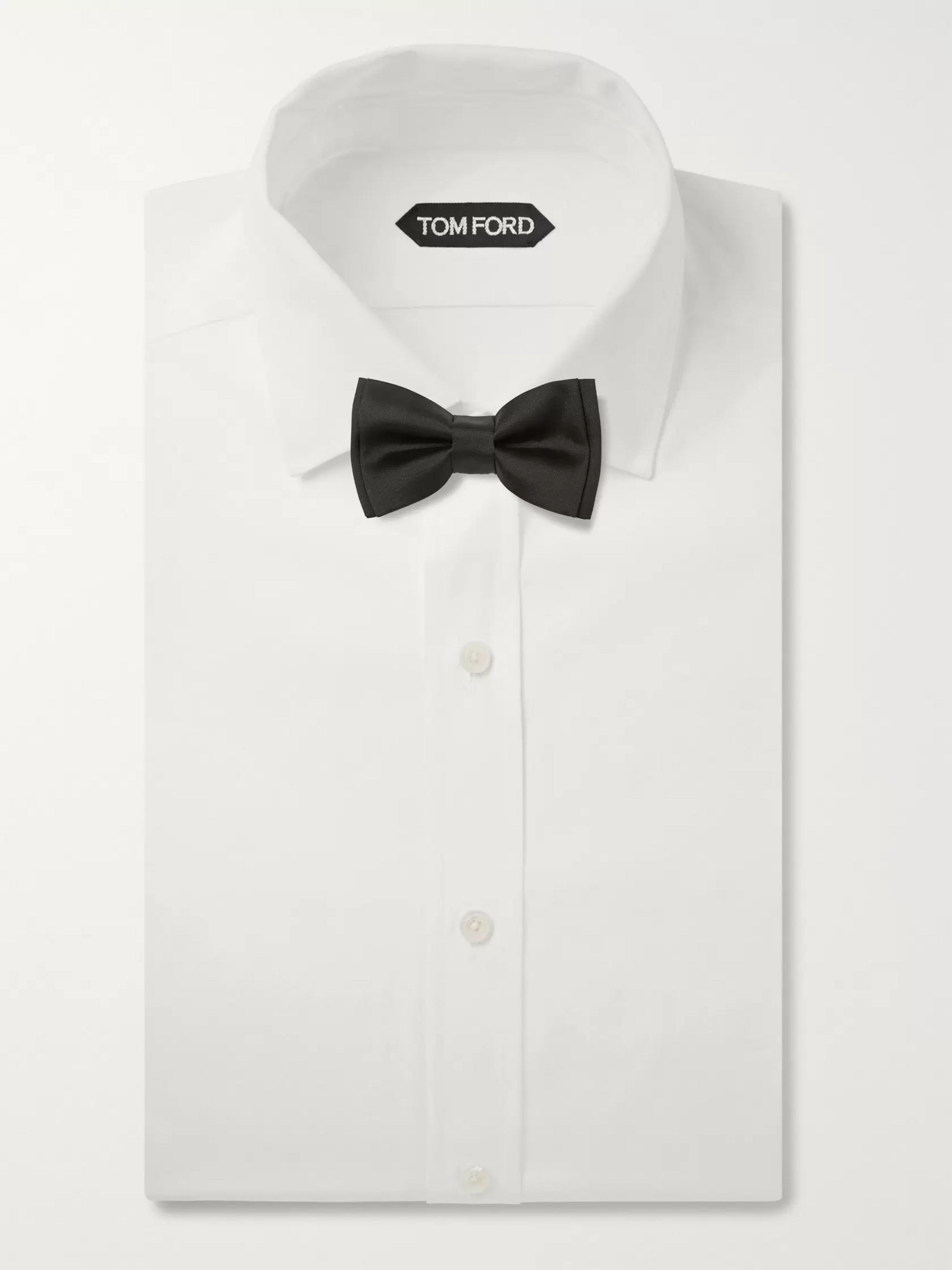 Paul Smith Pre-Tied Silk-Satin Bow Tie