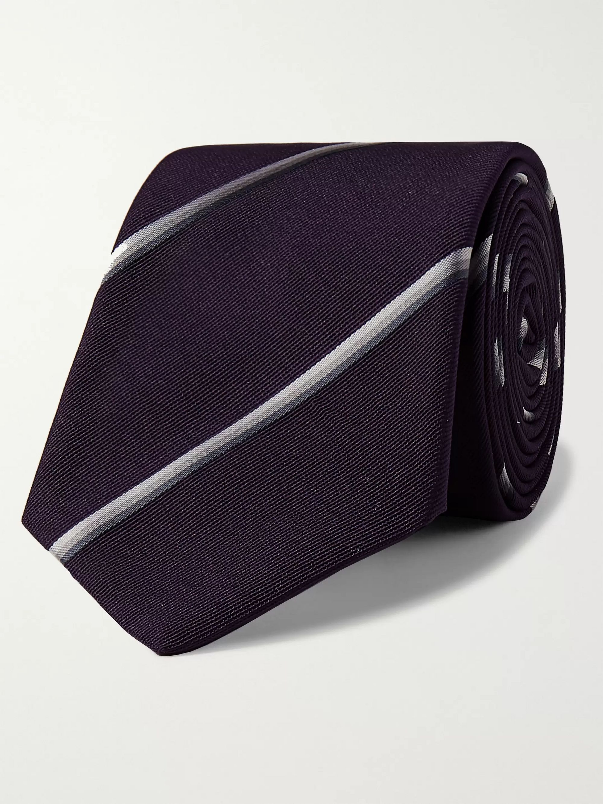 Paul Smith 6cm Striped Silk Tie