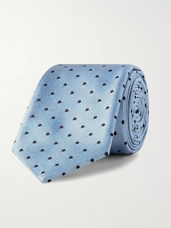 Paul Smith 6.5cm Polk-Dot Silk Tie