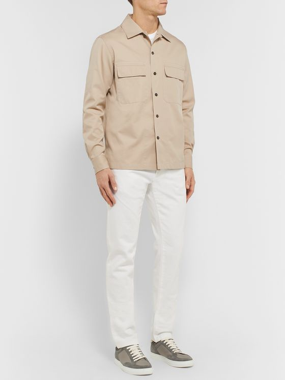 Ermenegildo Zegna Cotton-Twill Shirt