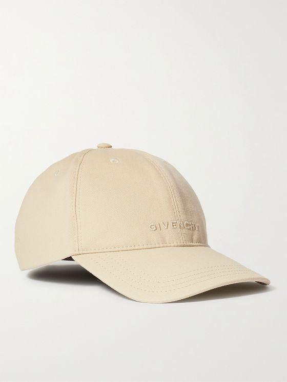 GIVENCHY Logo-Embroidered Cotton-Blend Twill Baseball Cap