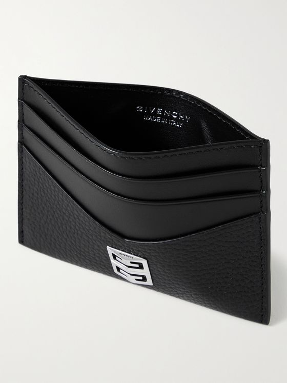 GIVENCHY Logo-Embellished Leather Cardholder