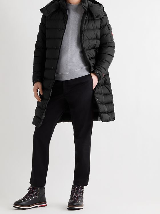 MONCLER Born to Protect Nicaise Quilted ECONYL Hooded Down Coat