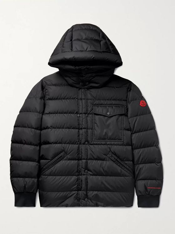 MONCLER Born to Protect Quilted ECONYL Hooded Down Jacket